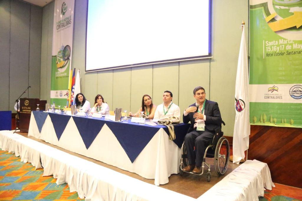 Gobernadora Rosa Cotes participó en la instalación del II Congreso Nacional de Contralorías