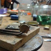 proces powstawania pierścionka
