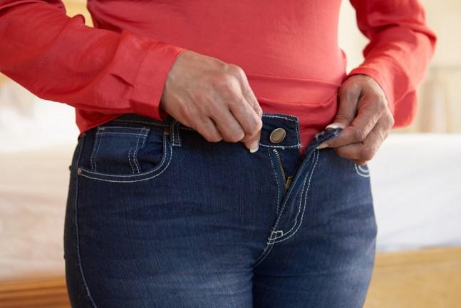 Zugenommen-Gewichtszunahme-Übergewicht-Waage