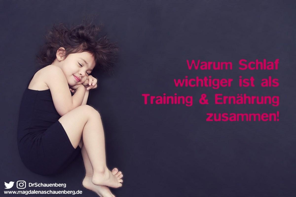 Warum Schlaf wichtiger ist als Training & Ernährung zusammen!