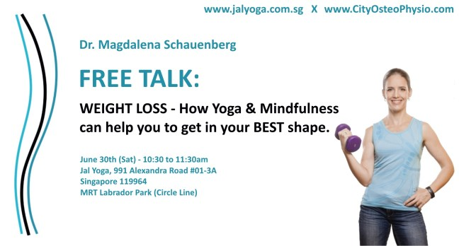 Free Talk: How Yoga & Mindfulness can help you to get in shape.