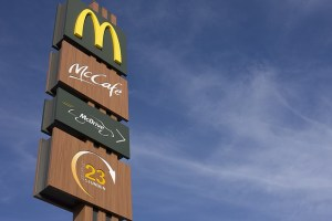 Fast Food logos are highly visible and influence your choices all the time.