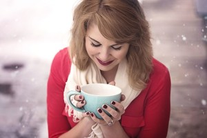 The first sip of your morning coffee can make you happy.