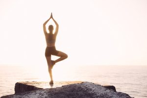 Yoga is a great way to recover from running.