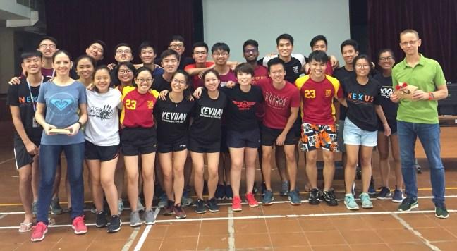 Brain Training & Performance Testing - Talk at National University of Singapore