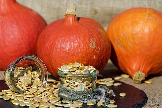 Kürbiskerne sind eine hervorragende Quelle von Omega-6 Fettsäuren