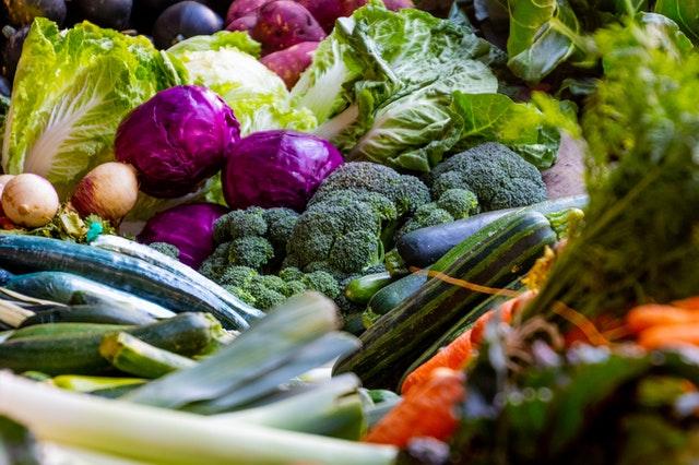 Gemüse ist reich an Ballaststoffen.