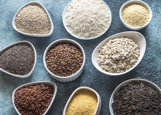 Glutenfreie Getreide