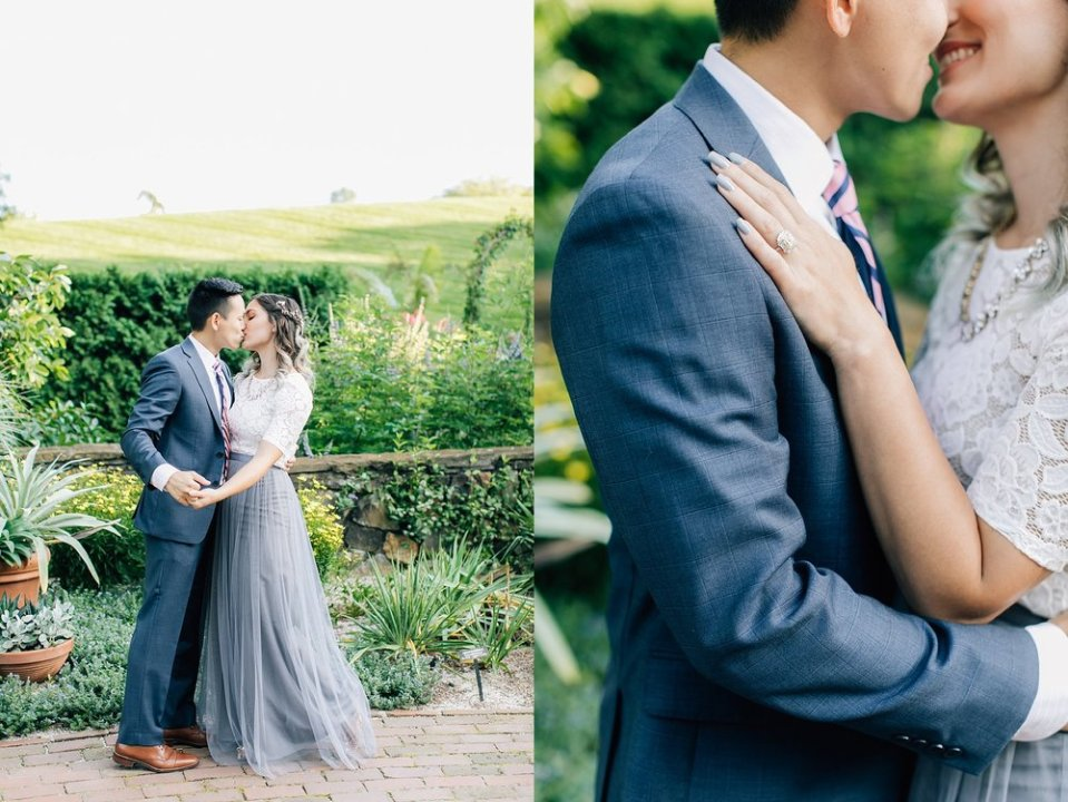 longwood gardens romantic summer engagement photography magdalena studios 0002