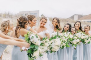 Candid and Sweet Beach Wedding Photography in Sea Isle City NJ by Magdalena Studios 0030