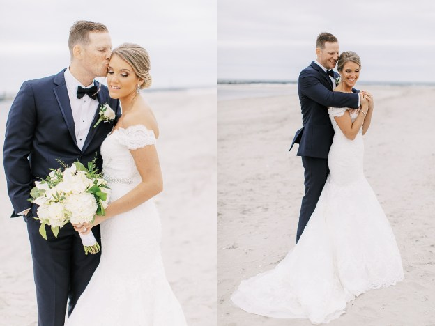 Candid and Sweet Beach Wedding Photography in Sea Isle City, NJ by Magdalena Studios_0035