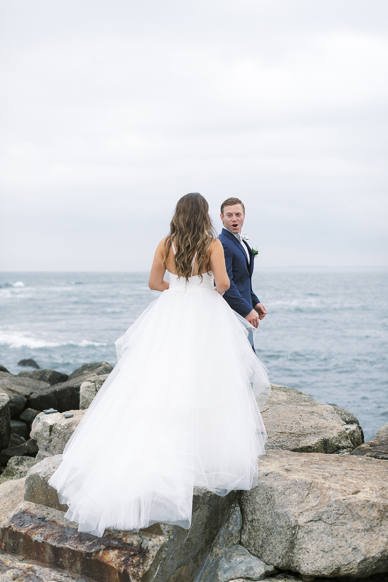 Coastal and Authentic Film Wedding Photography in Newport Rhode Island by Magdalena Studios 0023