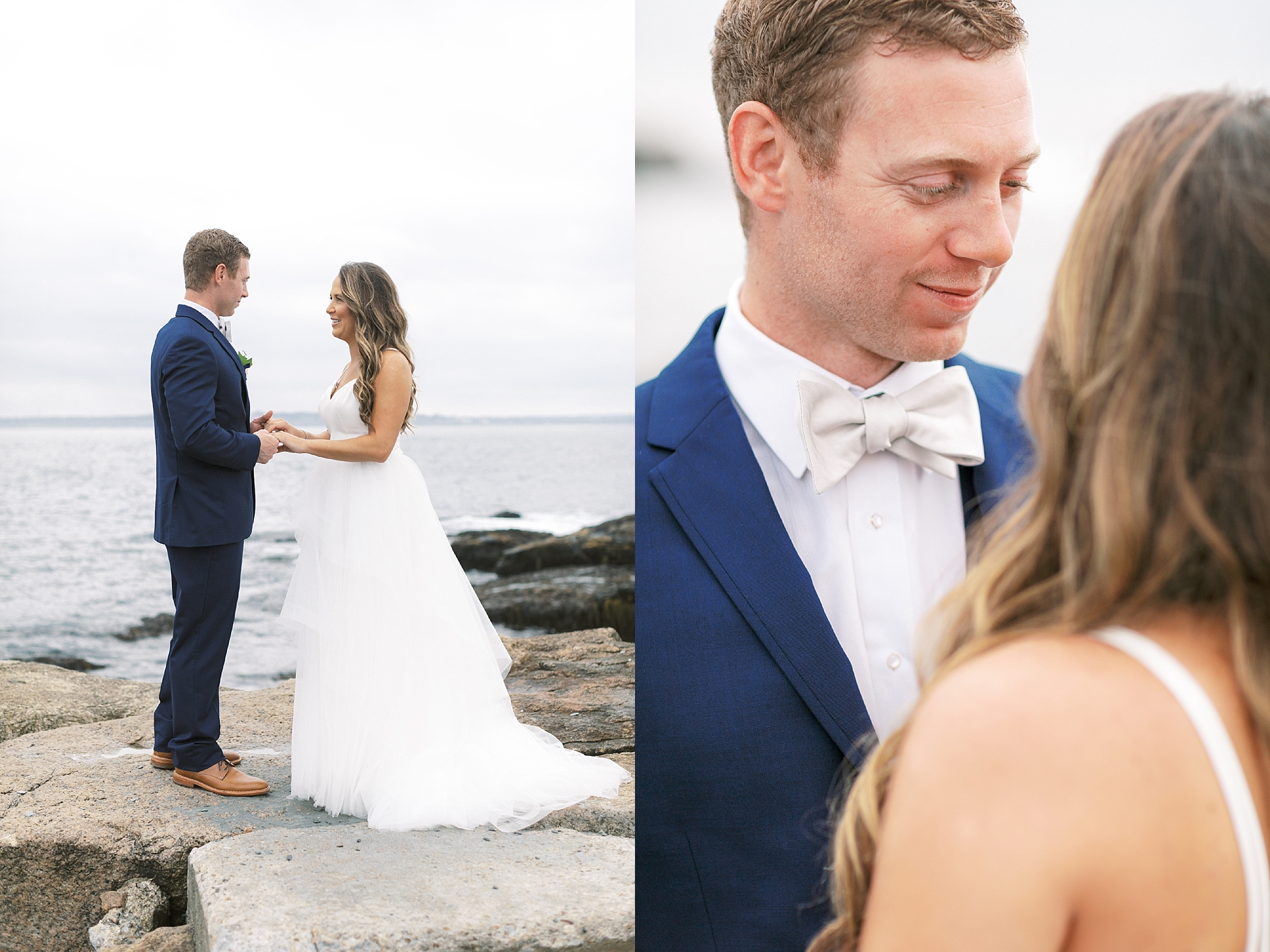 Coastal and Authentic Film Wedding Photography in Newport Rhode Island by Magdalena Studios 0024
