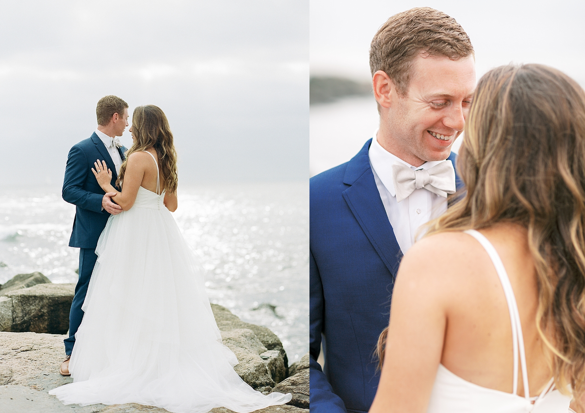 Coastal and Authentic Film Wedding Photography in Newport Rhode Island by Magdalena Studios 0030