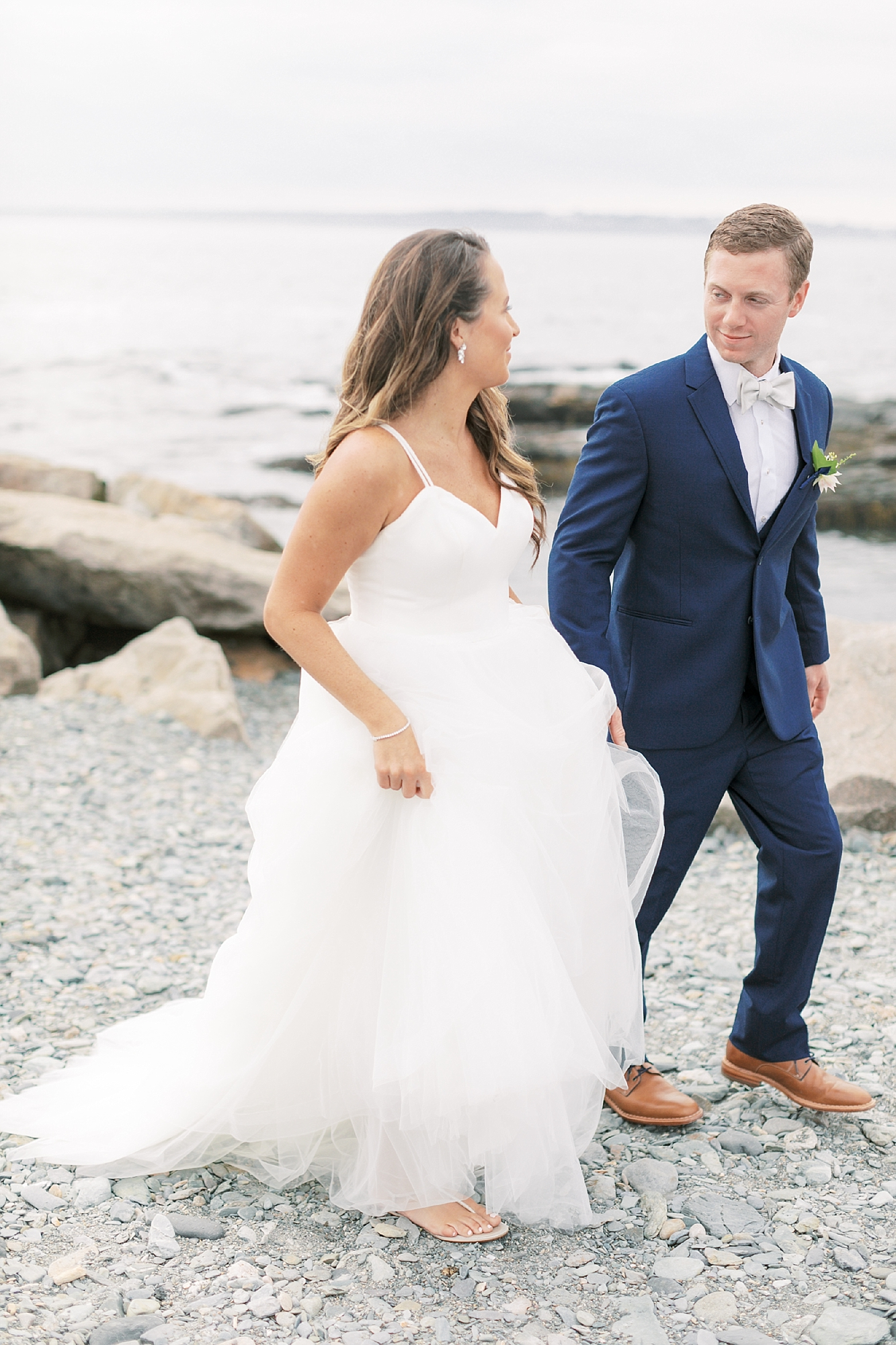 Coastal and Authentic Film Wedding Photography in Newport Rhode Island by Magdalena Studios 0031