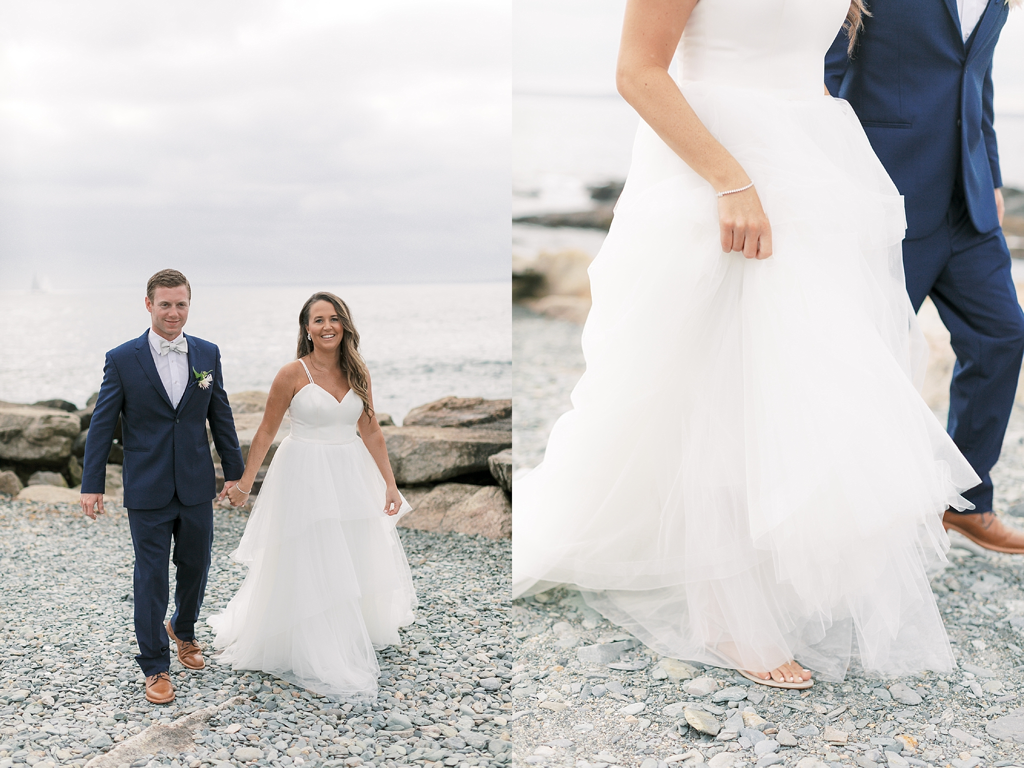 Coastal and Authentic Film Wedding Photography in Newport Rhode Island by Magdalena Studios 0033