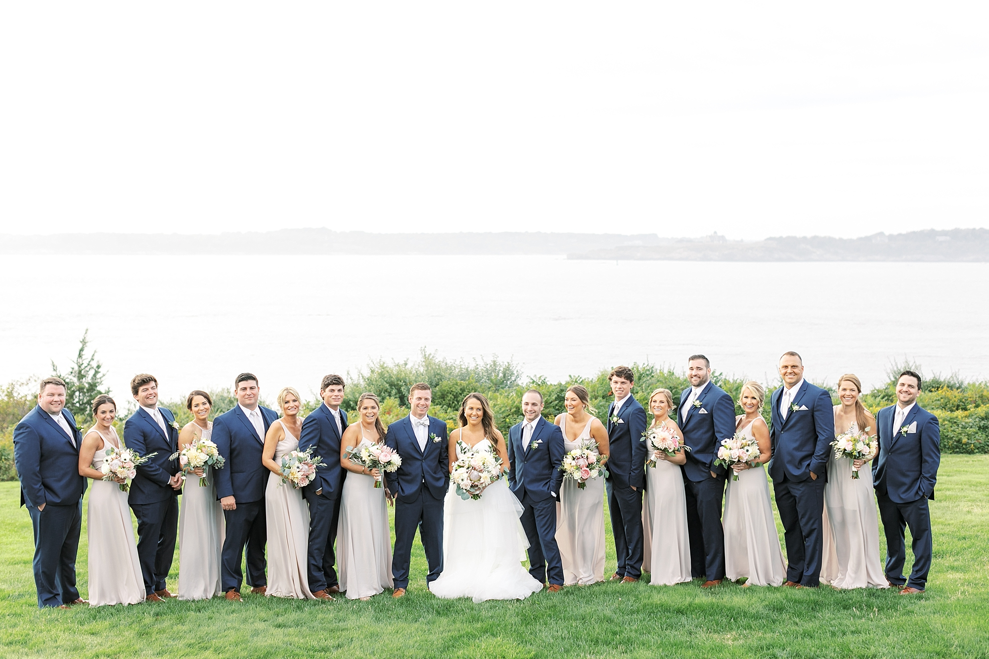Coastal and Authentic Film Wedding Photography in Newport Rhode Island by Magdalena Studios 0054