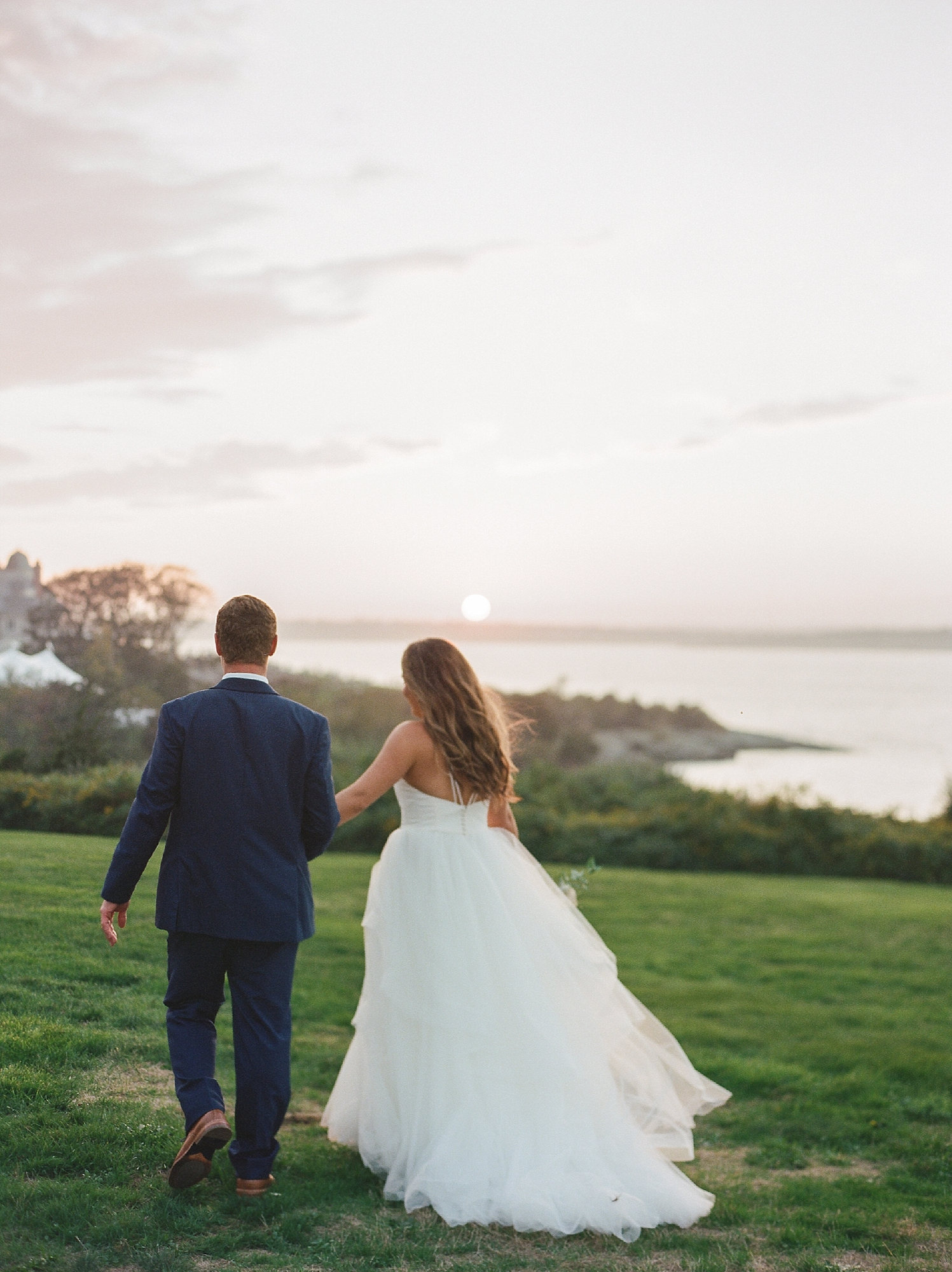 Coastal and Authentic Film Wedding Photography in Newport Rhode Island by Magdalena Studios 0074