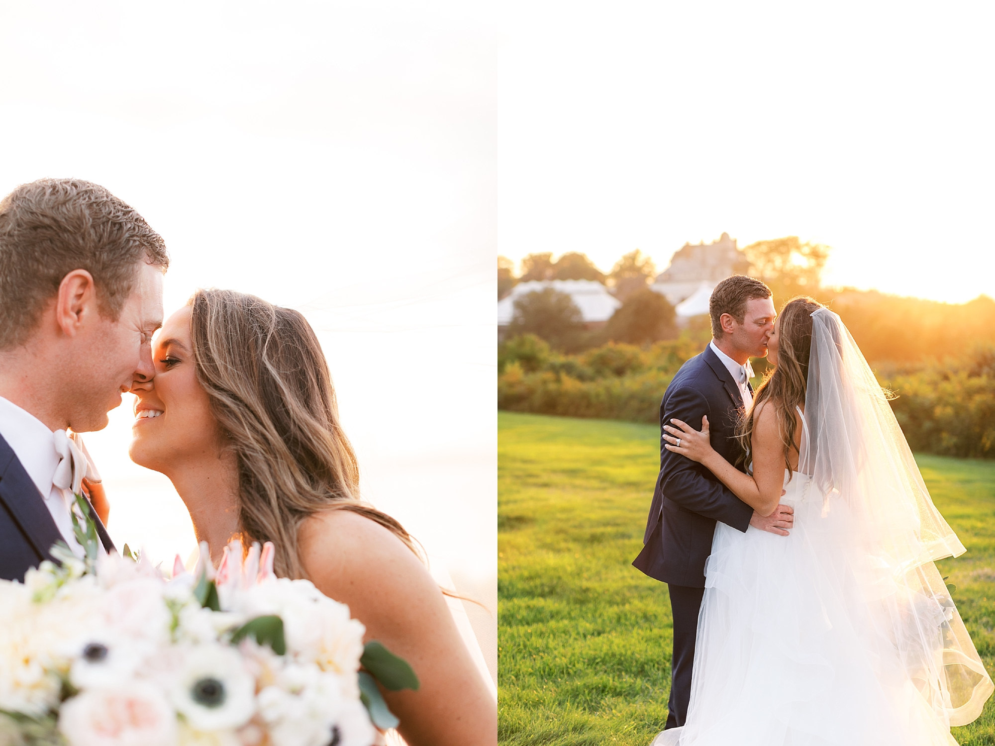 Coastal and Authentic Film Wedding Photography in Newport Rhode Island by Magdalena Studios 0080