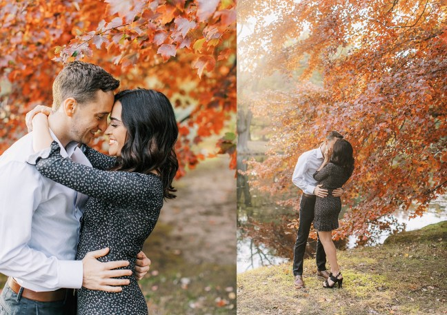 Cozy and Romantic Autumn Engagement Photography by Magdalena Studios_0006