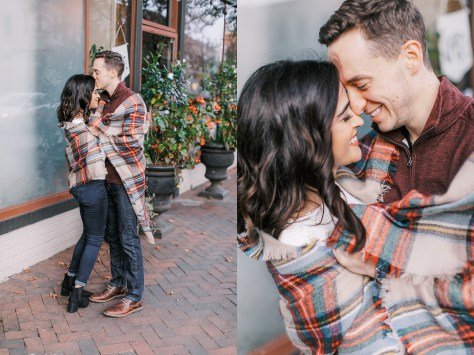 Cozy and Romantic Autumn Engagement Photography by Magdalena Studios_0015