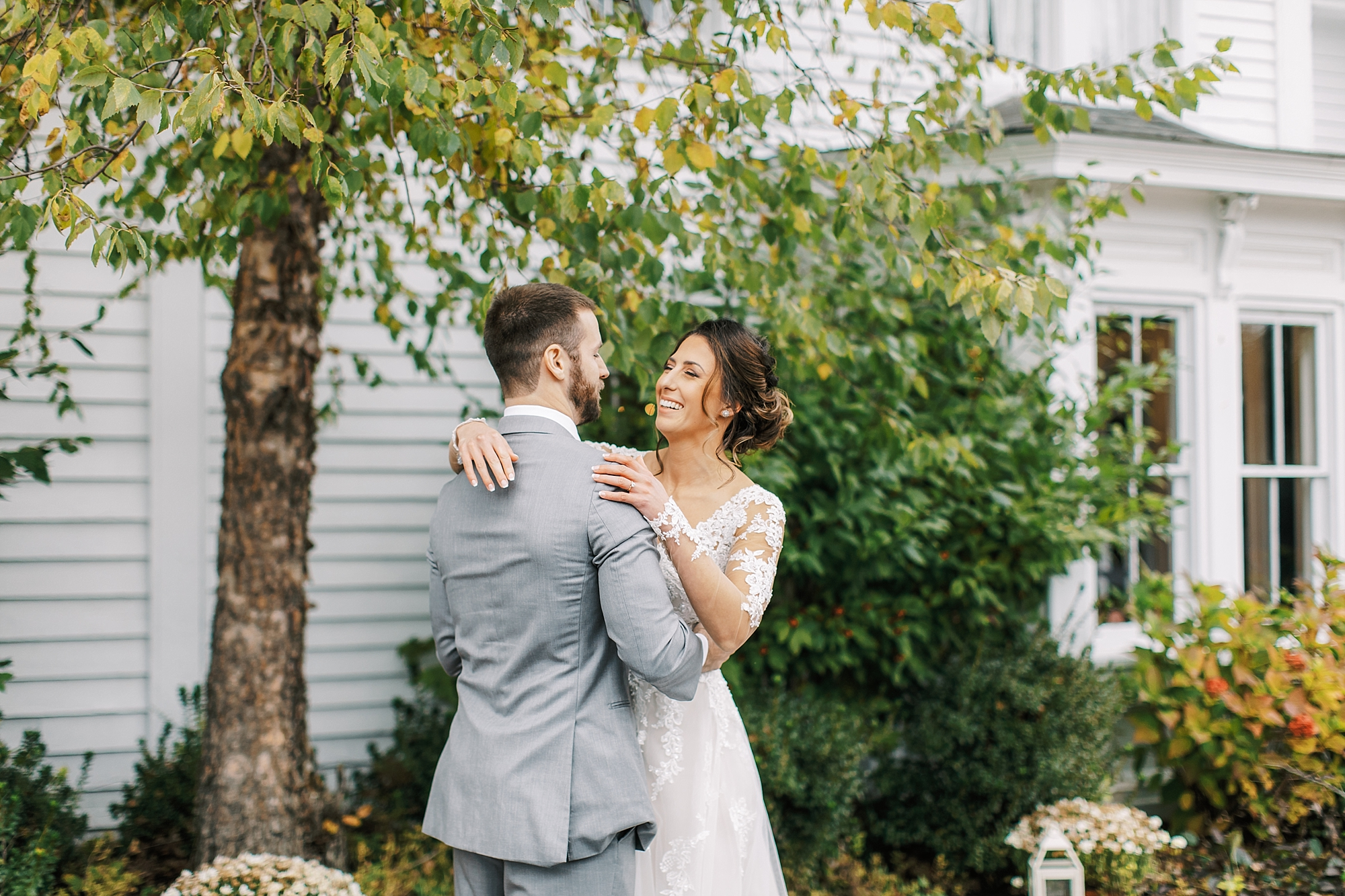 Sweet Garden Wedding Photography Abbie Holmes Estate in Cape May NJ by Magdalena Studios 0023