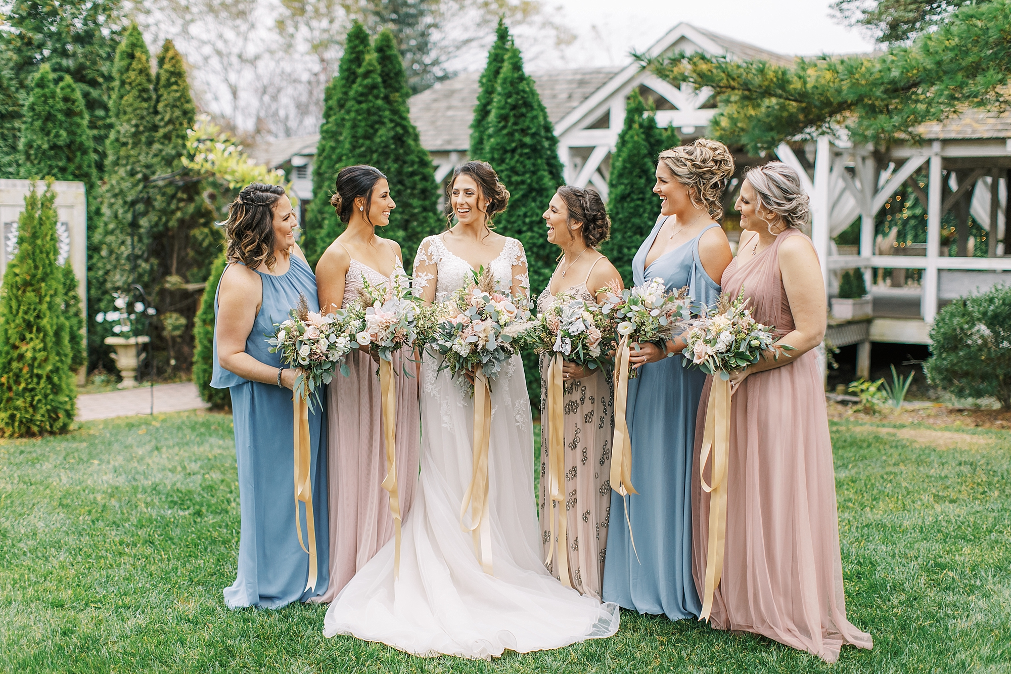 Sweet Garden Wedding Photography Abbie Holmes Estate in Cape May NJ by Magdalena Studios 0027