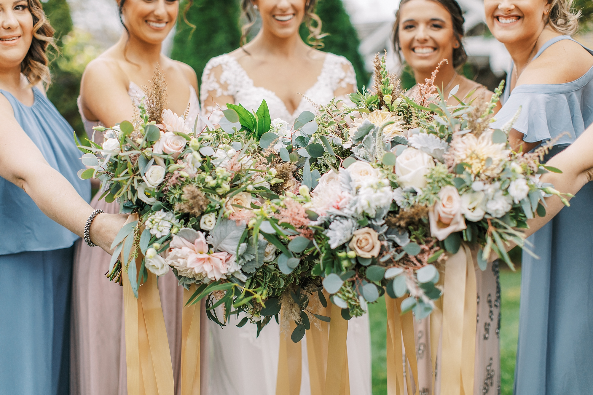Sweet Garden Wedding Photography Abbie Holmes Estate in Cape May NJ by Magdalena Studios 0028