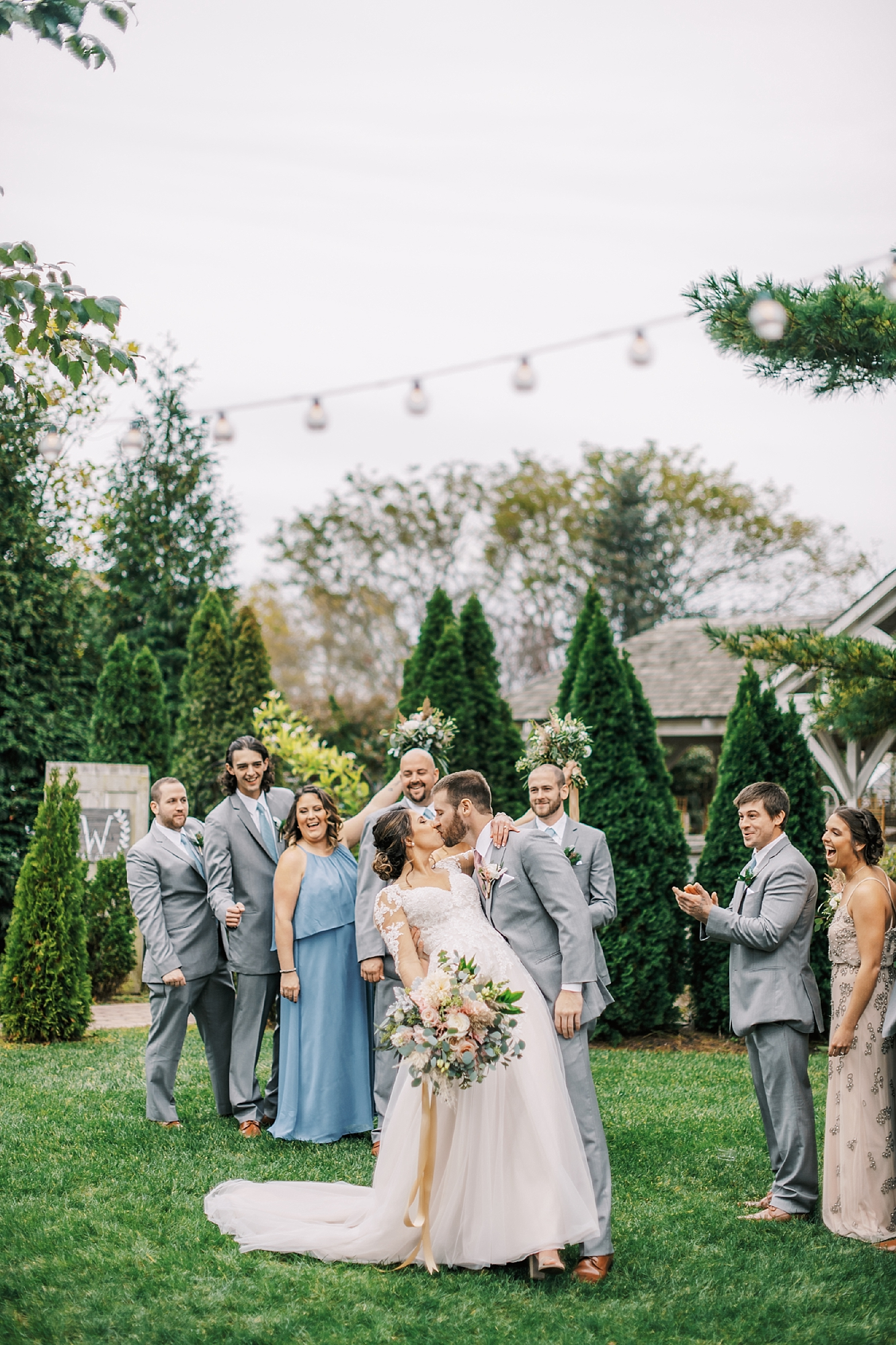 Sweet Garden Wedding Photography Abbie Holmes Estate in Cape May NJ by Magdalena Studios 0035