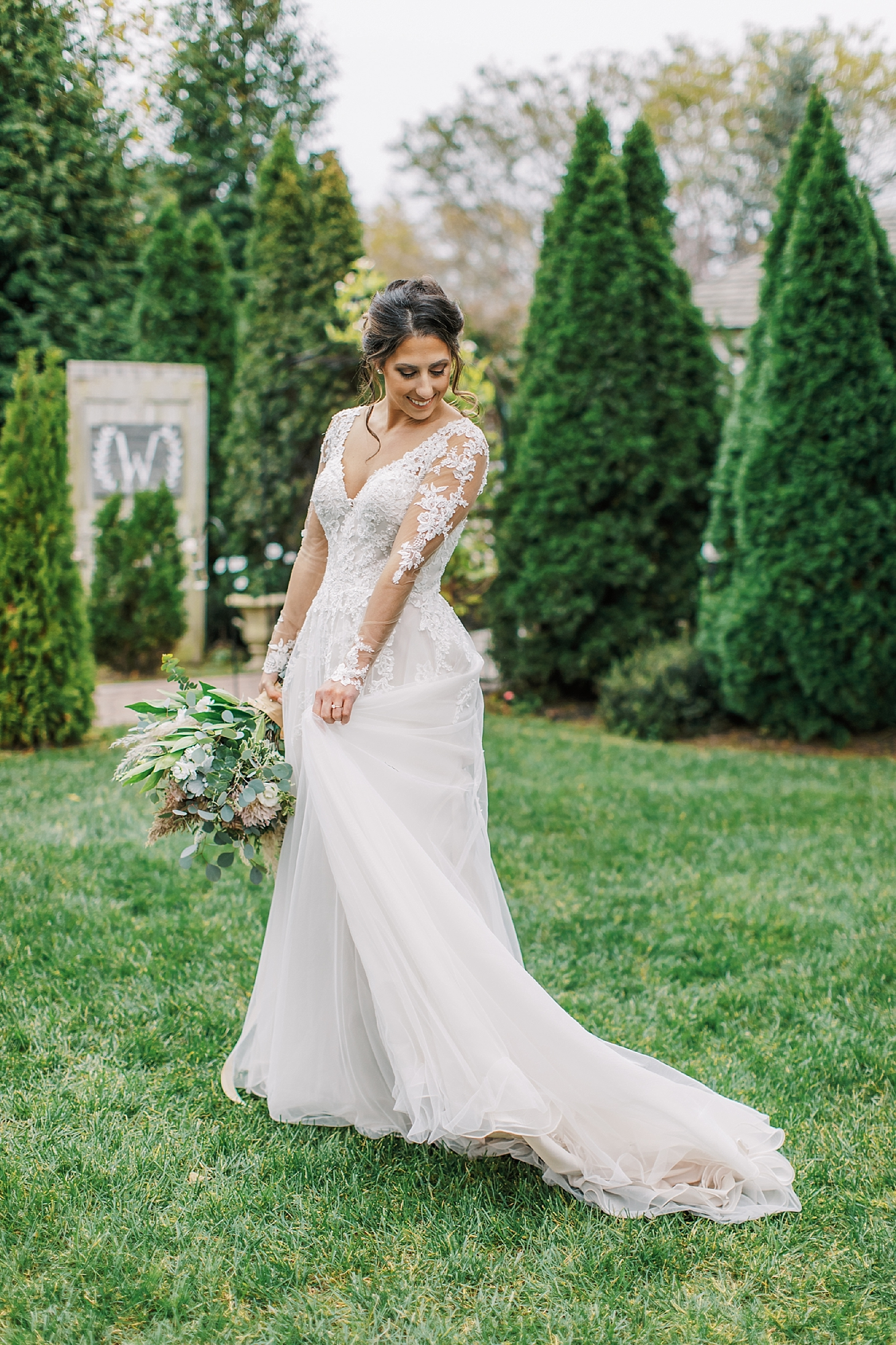 Sweet Garden Wedding Photography Abbie Holmes Estate in Cape May NJ by Magdalena Studios 0038