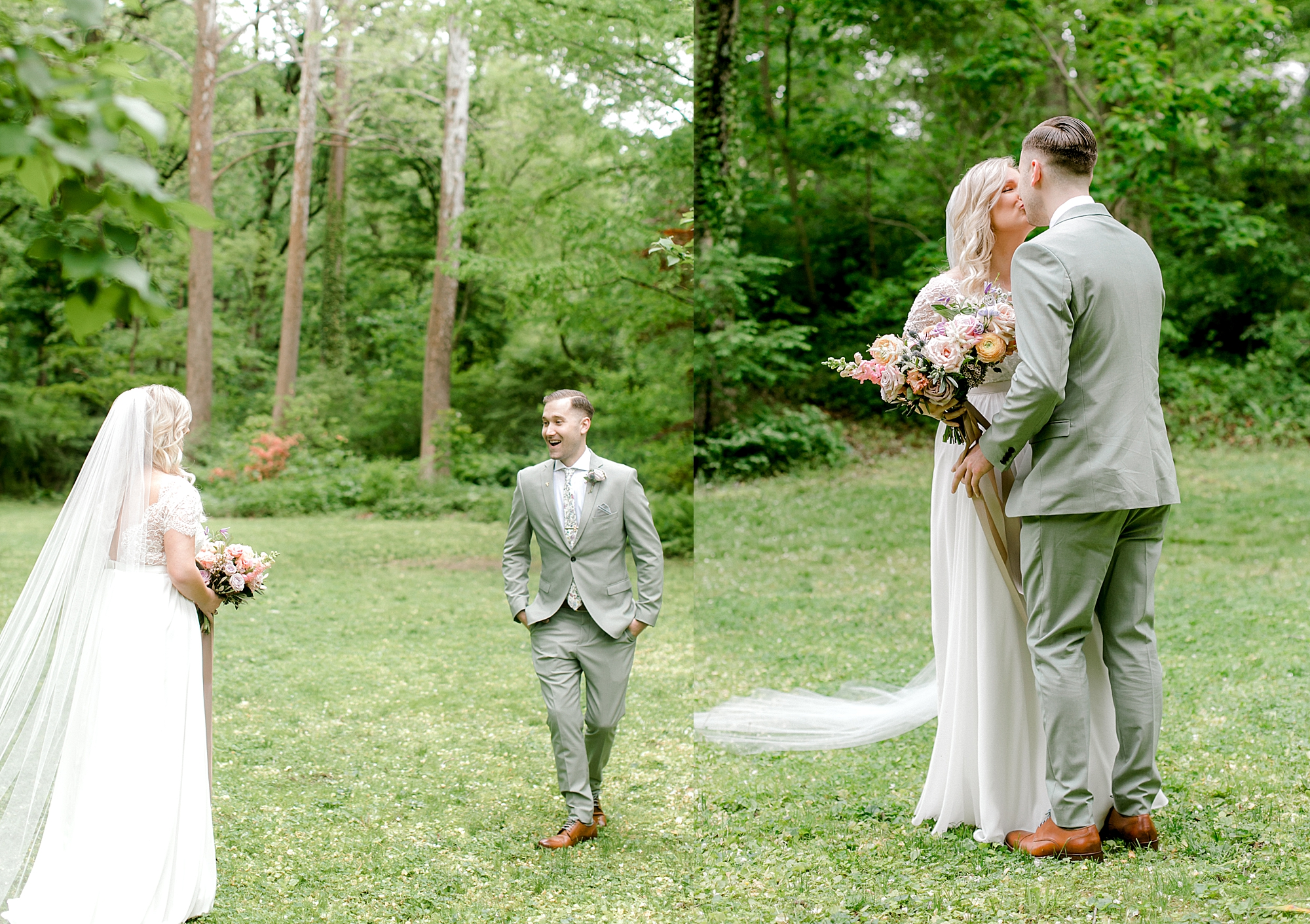 Intimate and Sweet Estate Wedding Photography by Magdalena Studios 0016