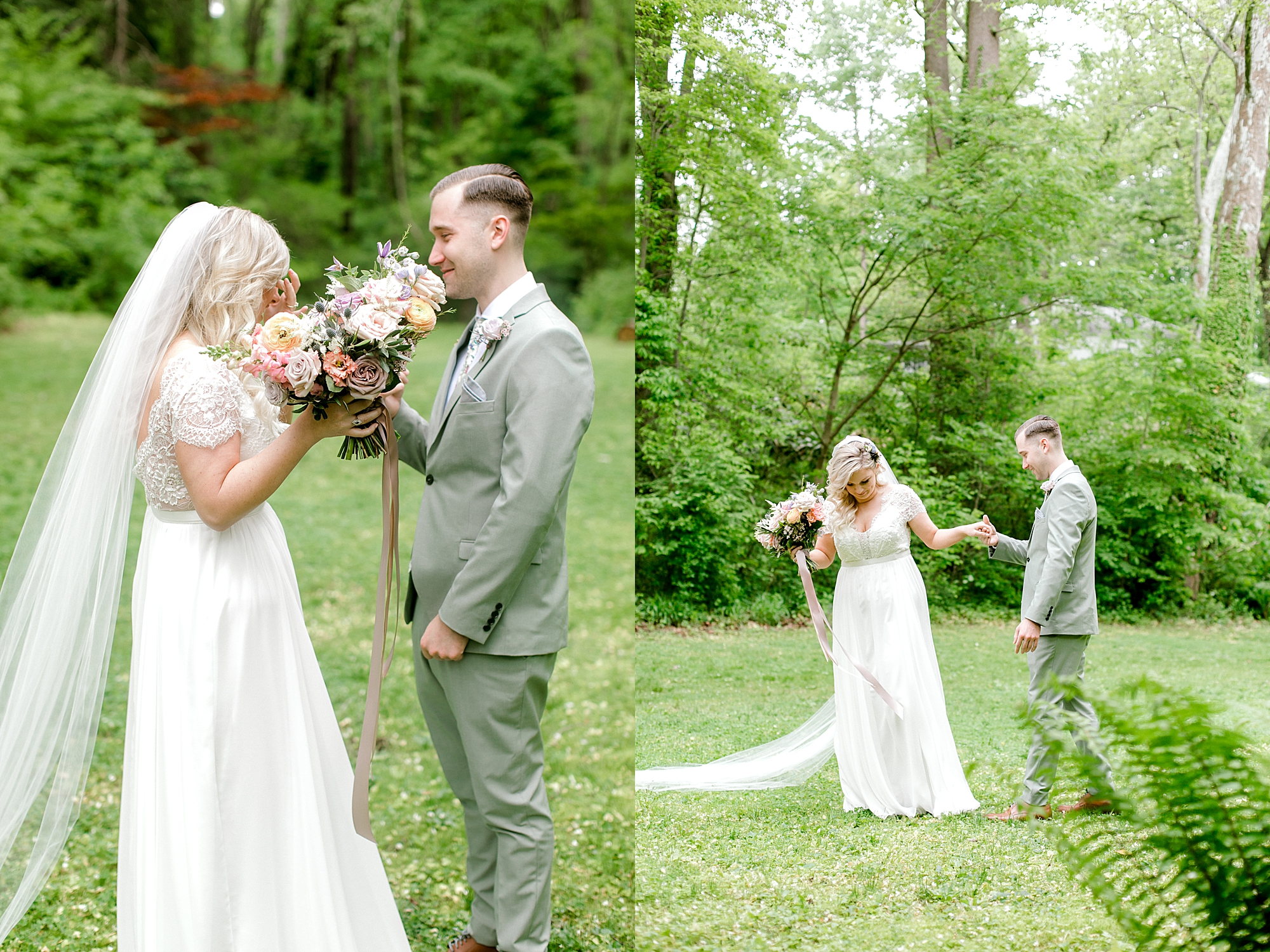 Intimate and Sweet Estate Wedding Photography by Magdalena Studios 0018