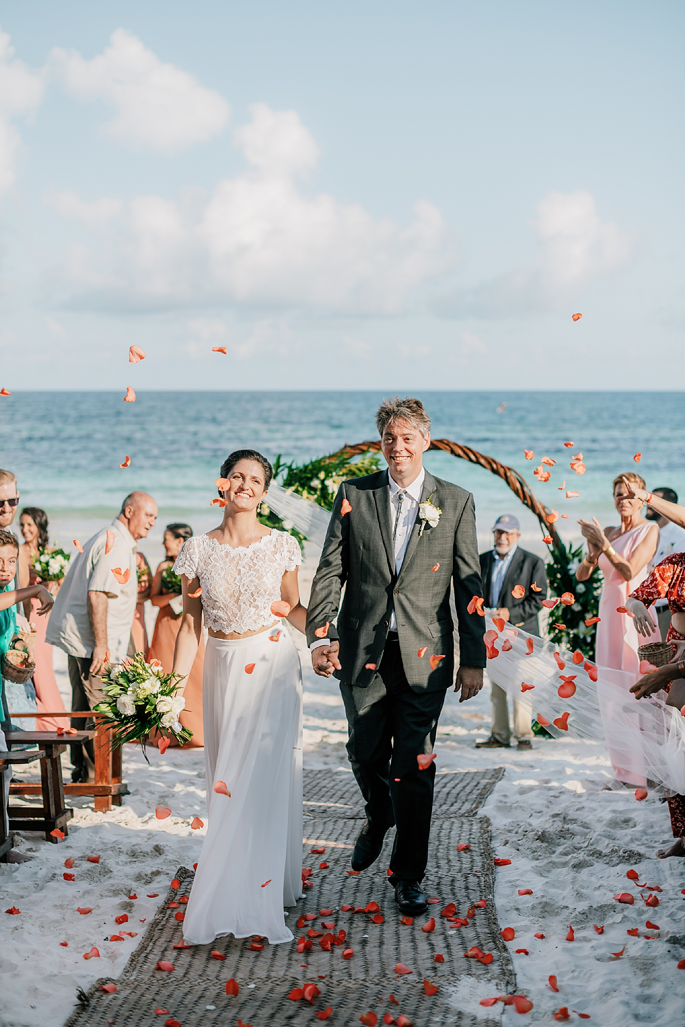 Stylish and Candid Destination Film Wedding Photography in Tulum Mexico by Magdalena Studios 0014