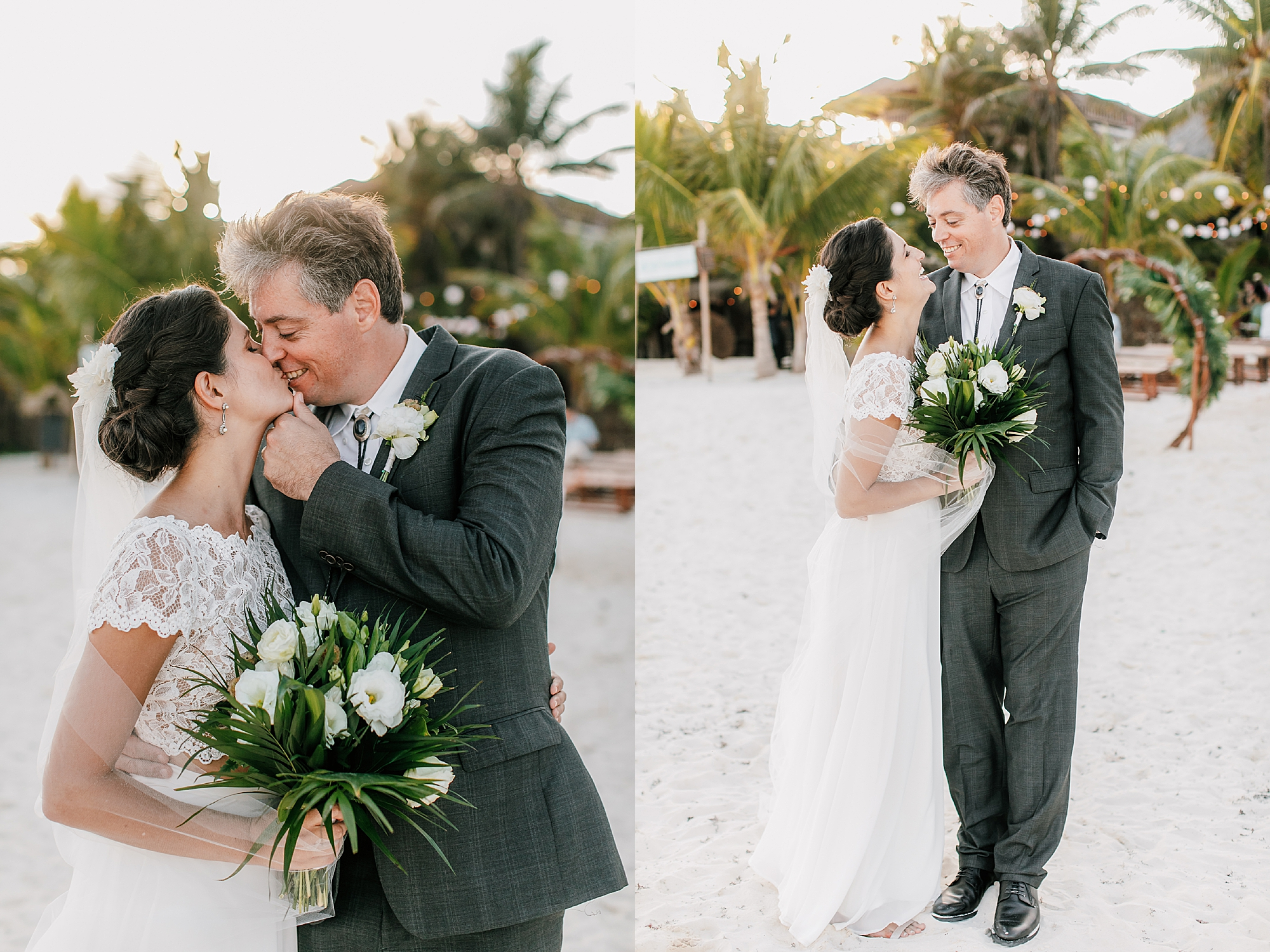 Stylish and Candid Destination Film Wedding Photography in Tulum Mexico by Magdalena Studios 0018