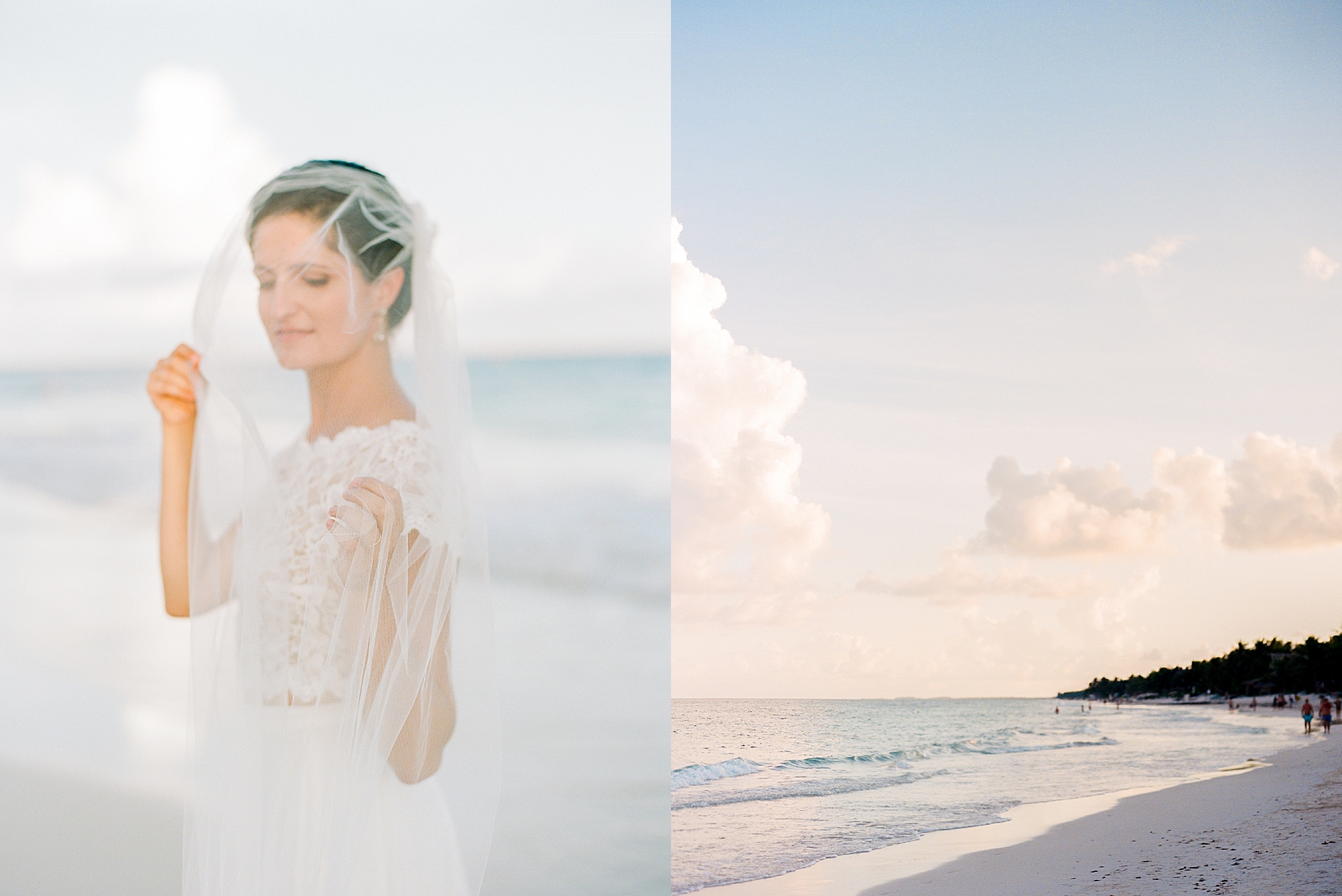 Stylish and Candid Destination Film Wedding Photography in Tulum Mexico by Magdalena Studios 0025.