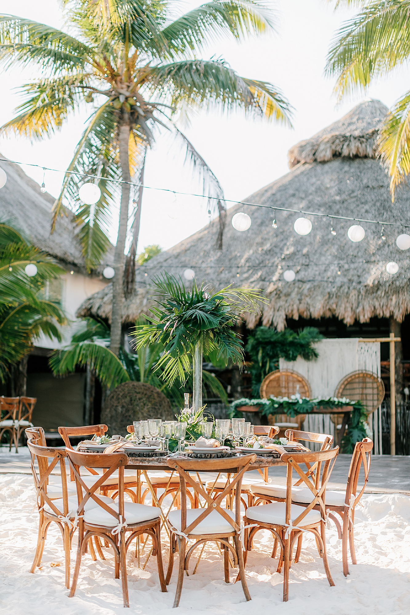 Stylish and Candid Destination Film Wedding Photography in Tulum Mexico by Magdalena Studios 0035