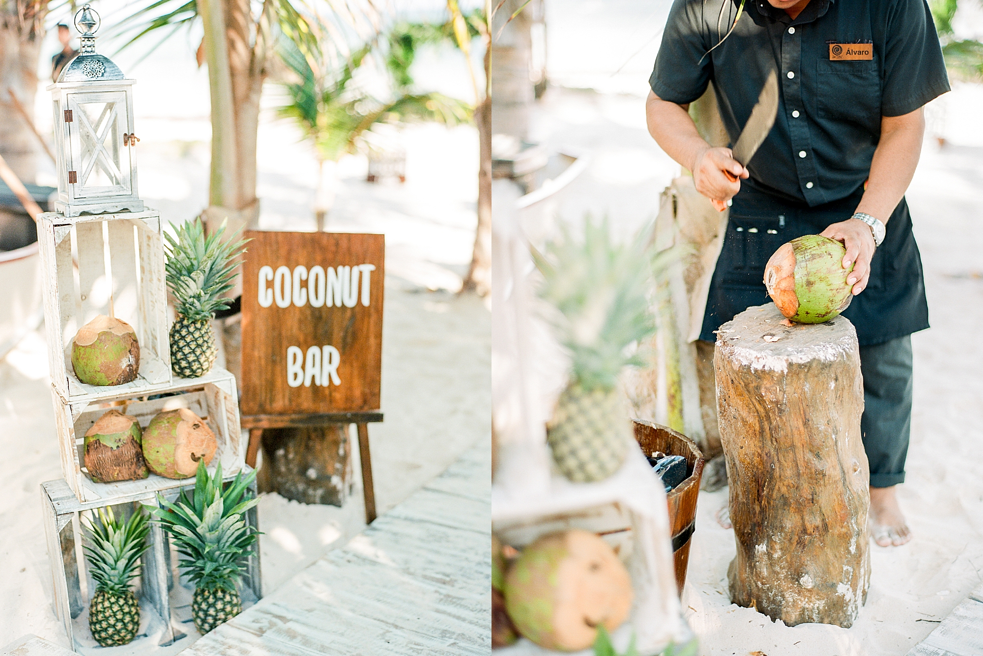 Stylish and Candid Destination Film Wedding Photography in Tulum Mexico by Magdalena Studios 0040