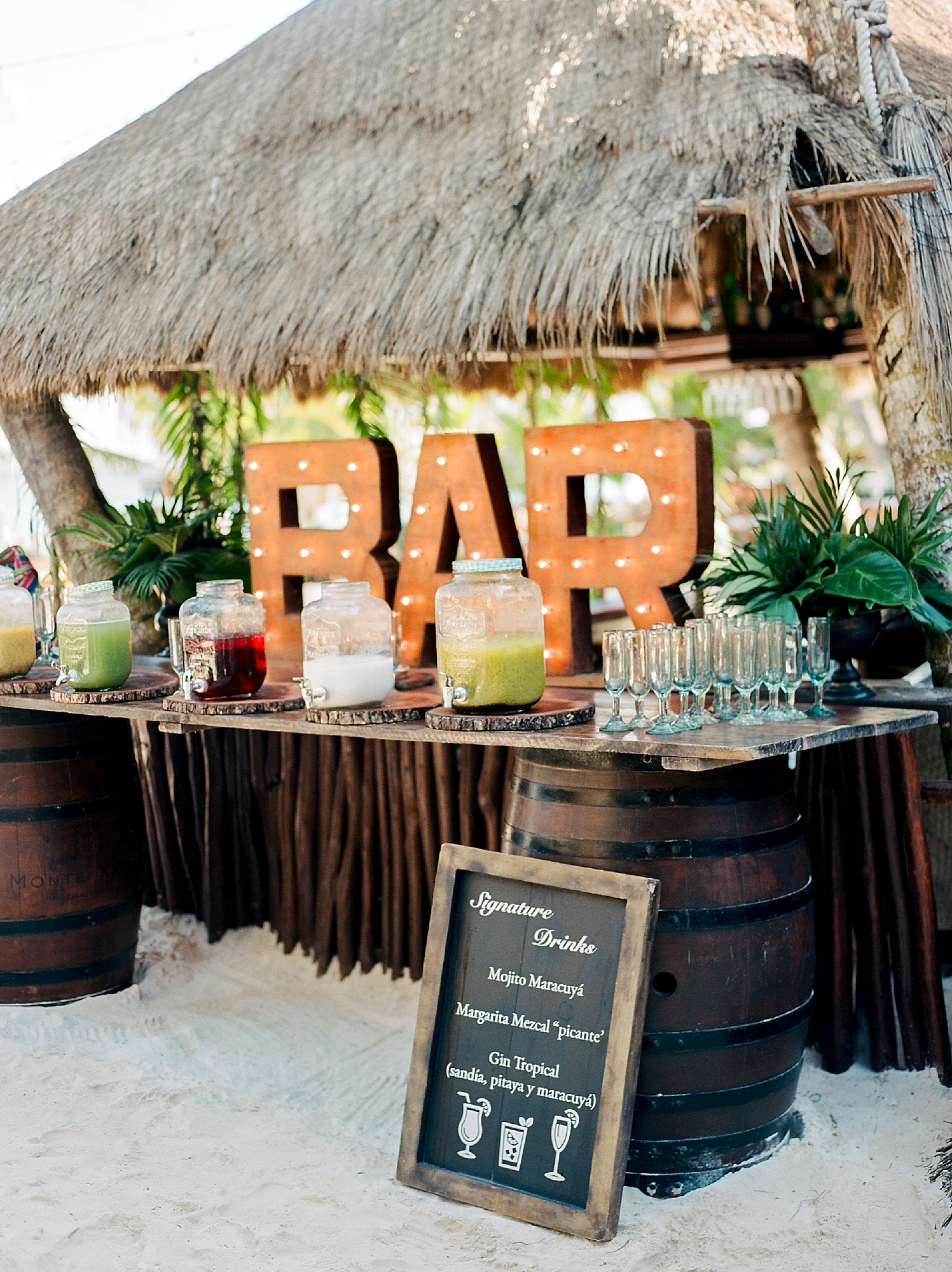 Stylish and Candid Destination Film Wedding Photography in Tulum Mexico by Magdalena Studios 0046
