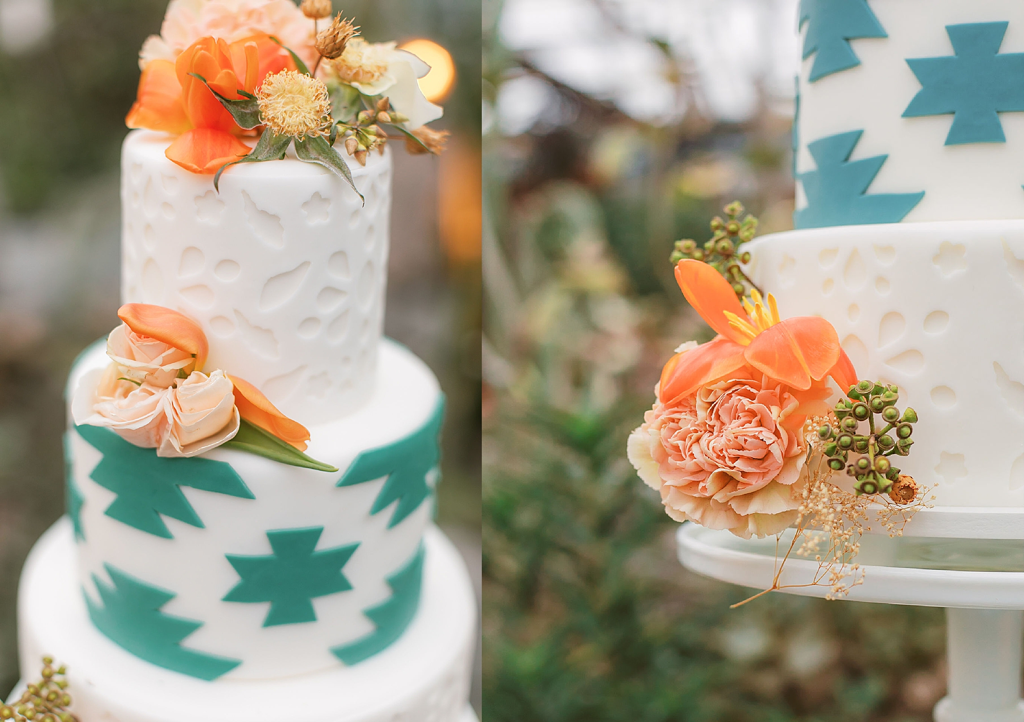 Colorful and Vibrant Wedding Photography at Fairmount Horticultural Center by Magdalena Studios 0006