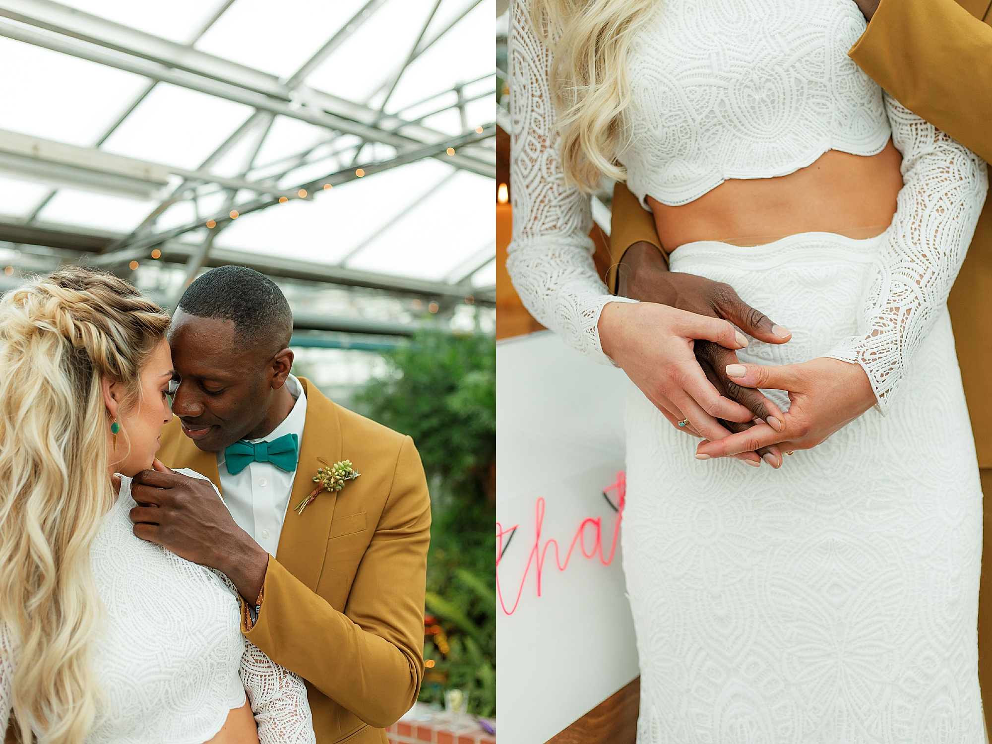 Colorful and Vibrant Wedding Photography at Fairmount Horticultural Center by Magdalena Studios 0017