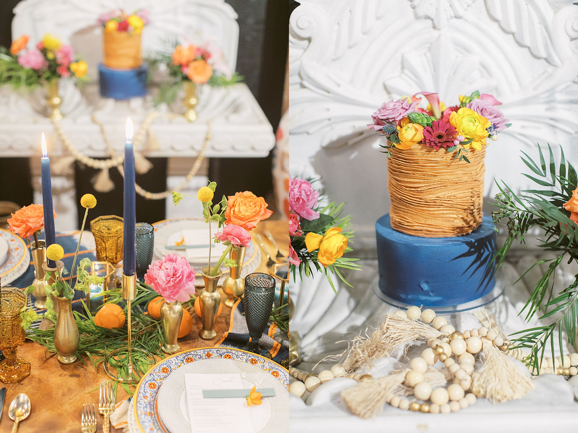 Vibrant and Colorful Frida Kahlo Inspired Wedding Photography by Magdalena Studios 0030