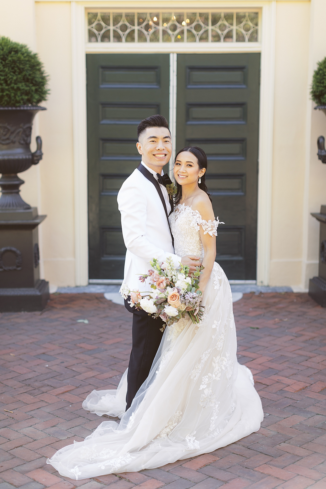 Fine Art Film Wedding Photography at Fairmount Water Works by Magdalena Studios 0039
