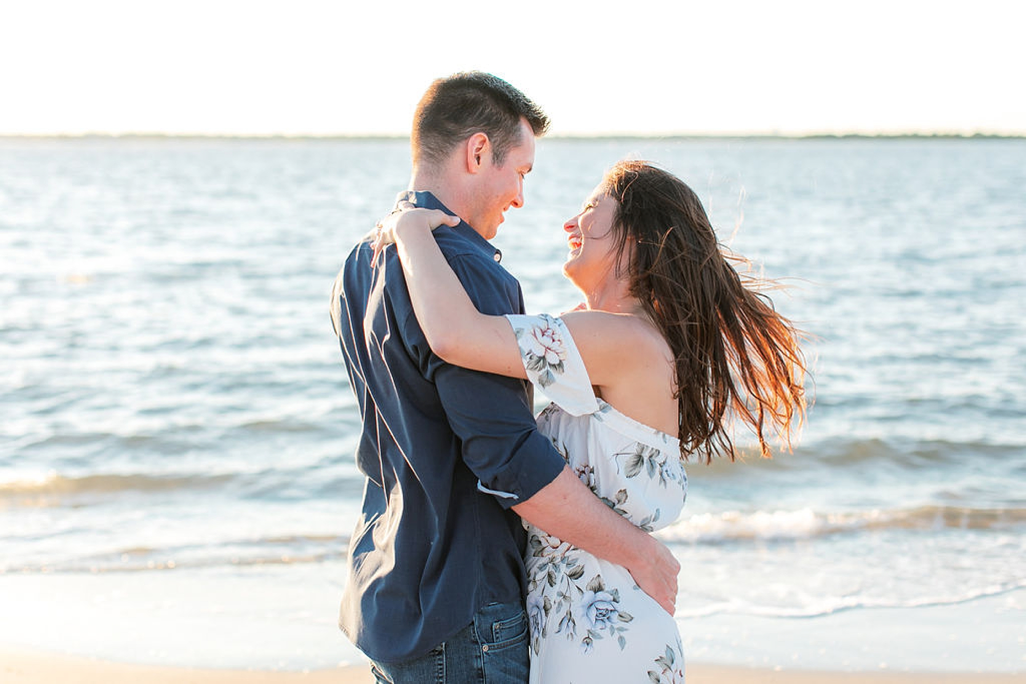 Film Engagement Session Photography in Ocean City NJ by Magdalena Studios 0042