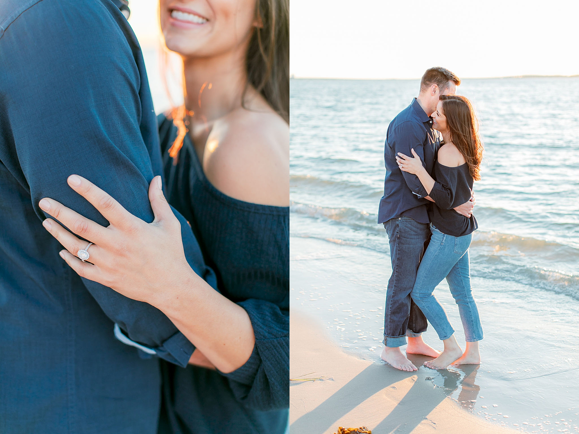Film Engagement Session Photography in Ocean City NJ by Magdalena Studios 0051
