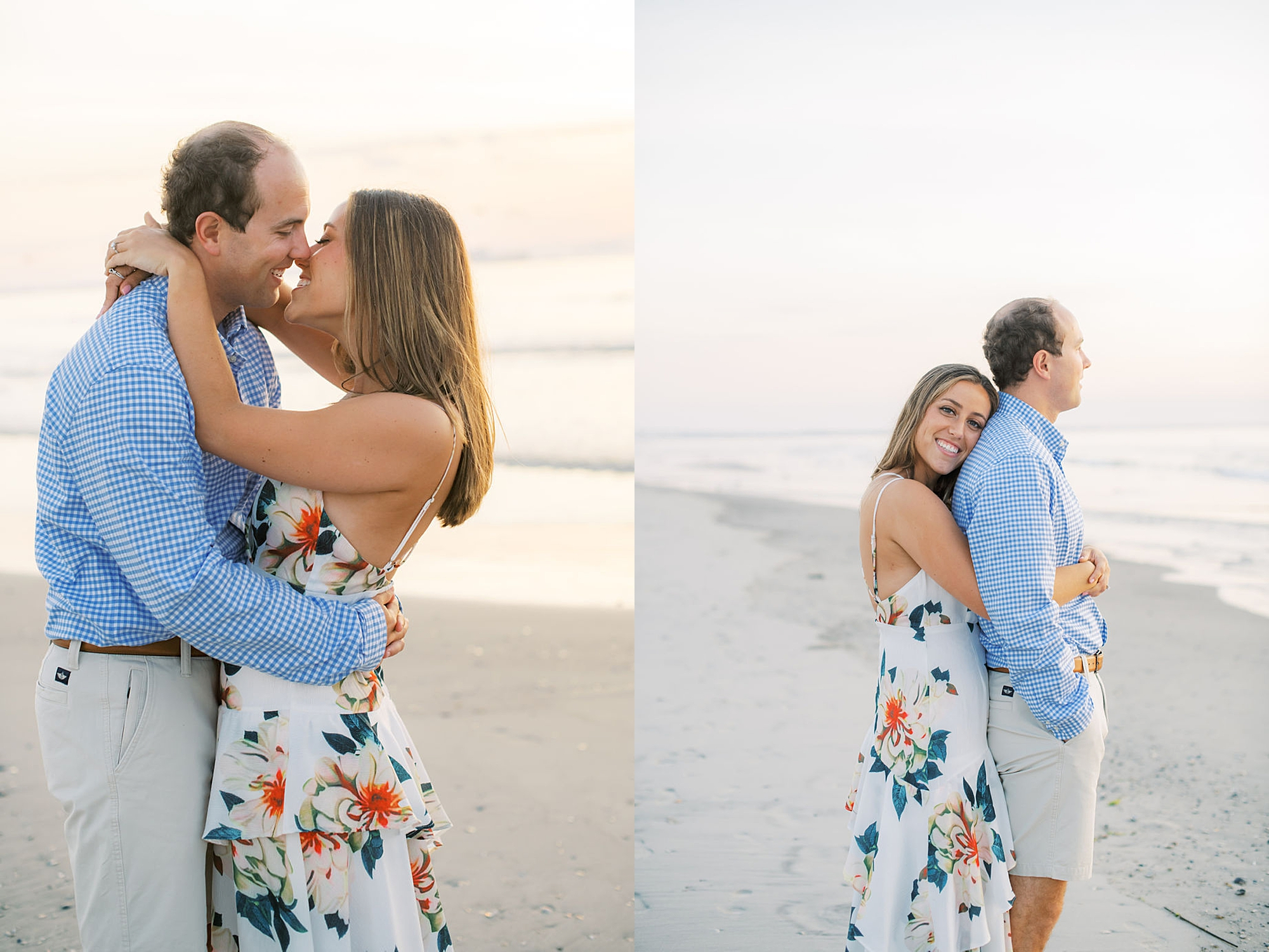 Organic and Romantic Engagement Photography in Ocean City NJ by Magdalena Studios 0008