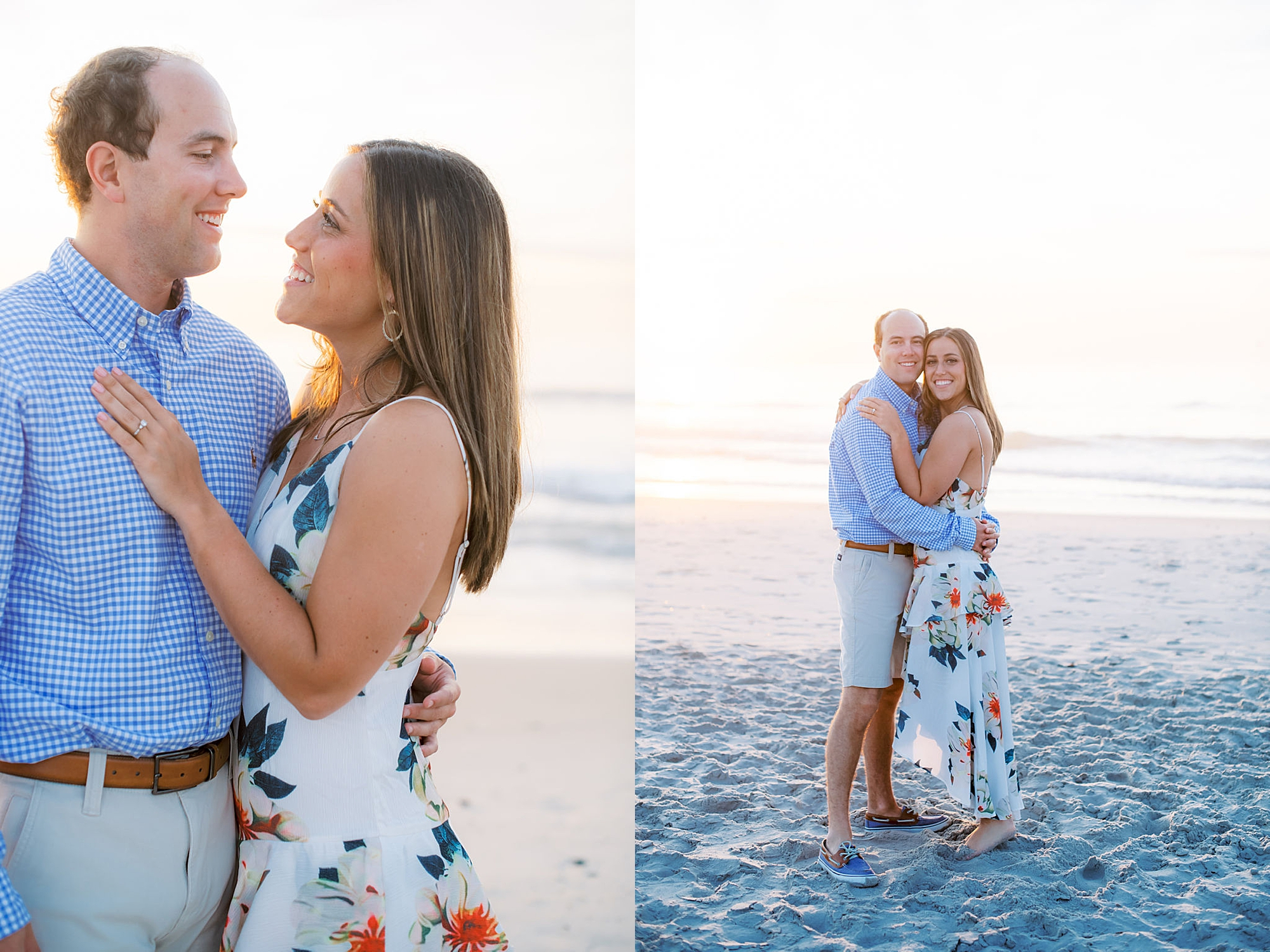 Organic and Romantic Engagement Photography in Ocean City NJ by Magdalena Studios 0010