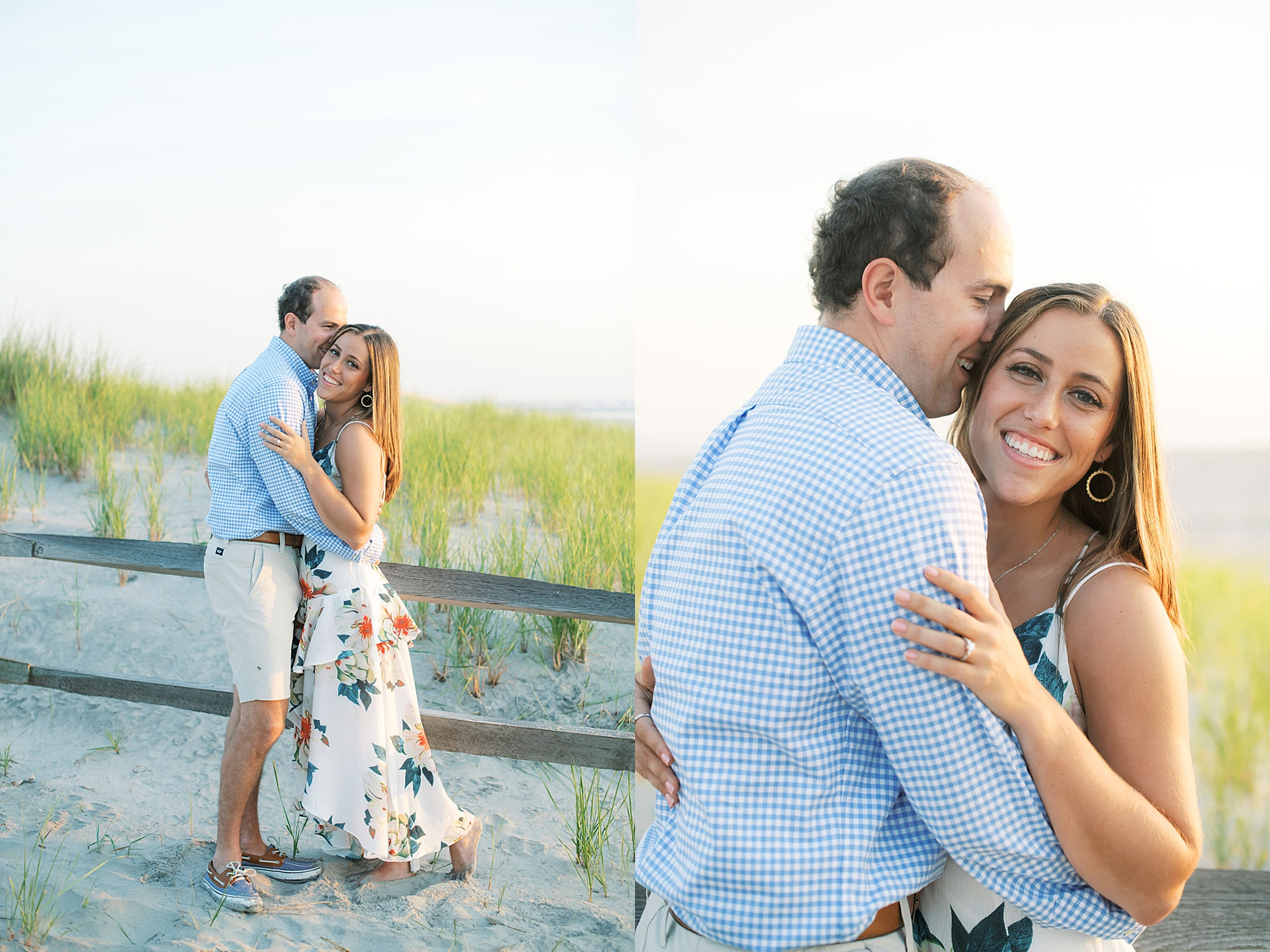 Organic and Romantic Engagement Photography in Ocean City NJ by Magdalena Studios 0014