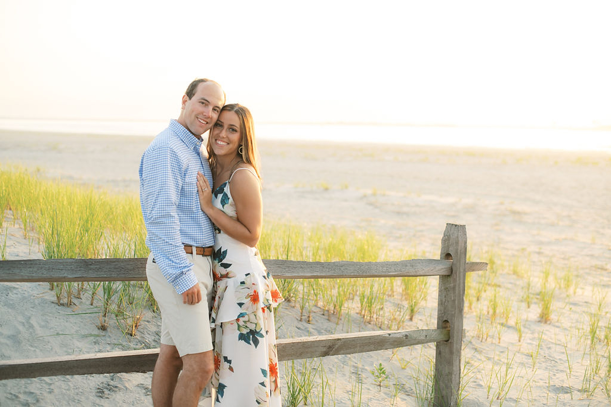 Organic and Romantic Engagement Photography in Ocean City NJ by Magdalena Studios 0015