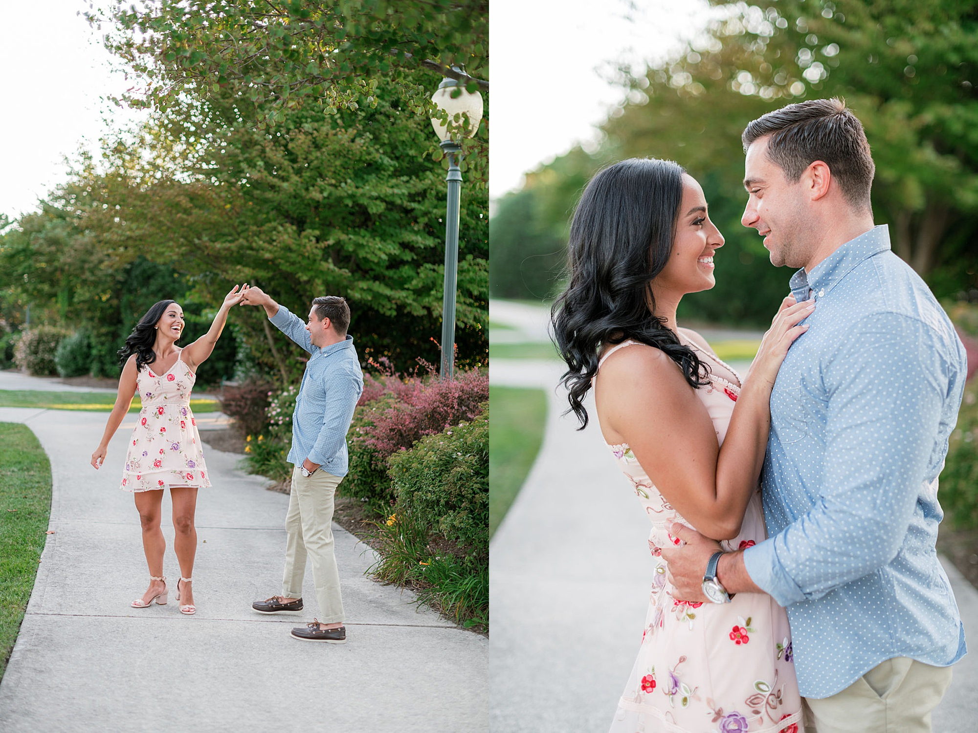Airy and Bright Engagement Photography in Ocean City NJ by Magdalena Studios 0016