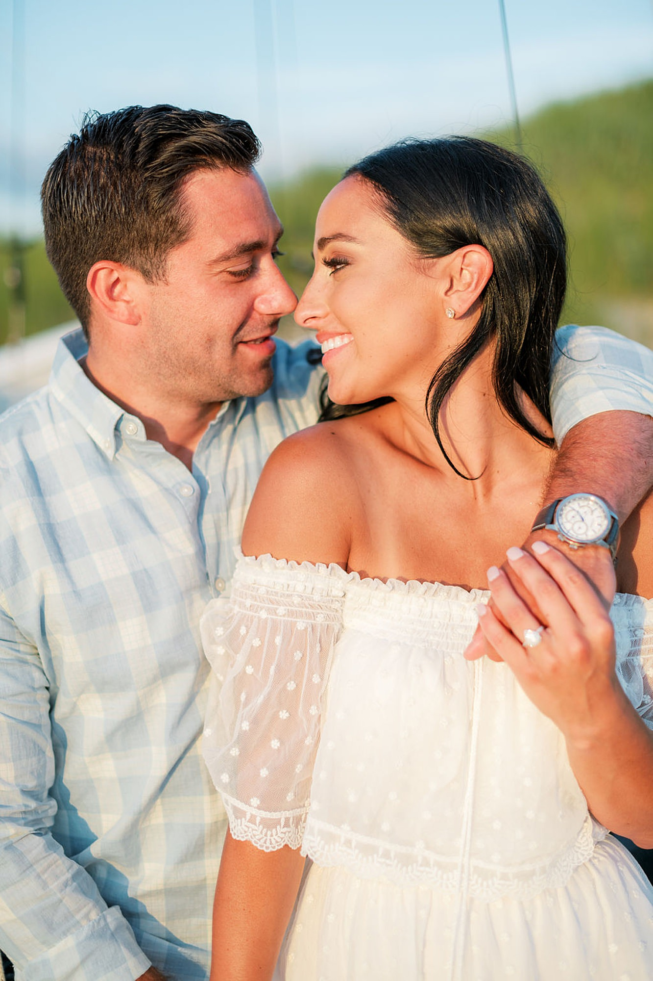 Airy and Bright Engagement Photography in Ocean City NJ by Magdalena Studios 0032